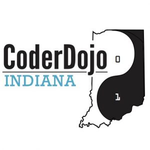 logo for CoderDojo of Indiana
