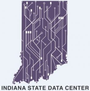 logo for the Indiana State Data Center