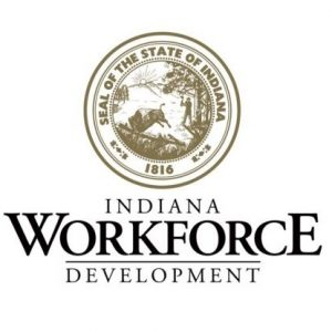 logo for the Indiana Department of Workforce Development