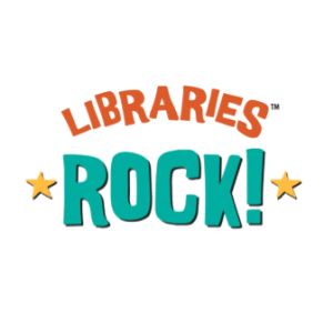 image of the words libraries rock