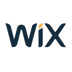 image of Wix logo