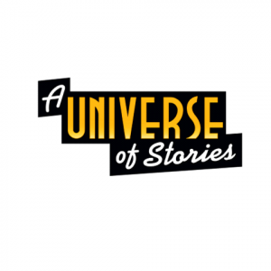 image of a universe of stories logo