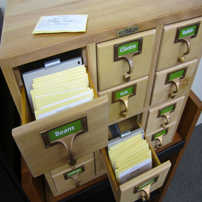 image of seed library