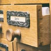 library catalog drawer